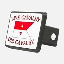 4th Squadron 7th Cavalry c Hitch Cover