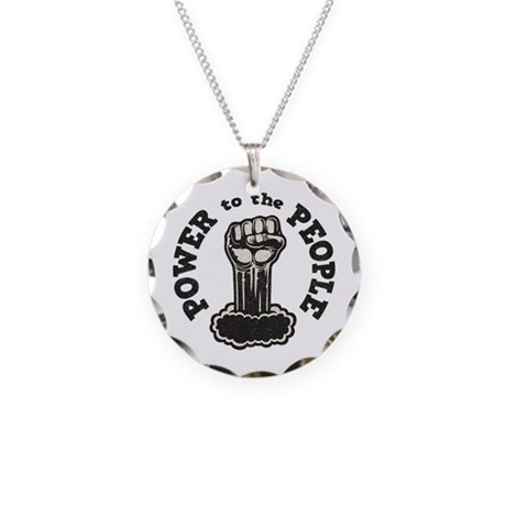 power-people-LTT Necklace Circle Charm