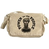 Black power Messenger Bags & Laptop Bags