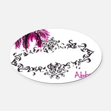 Abby.upload Oval Car Magnet