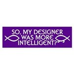 MY DESIGNER Bumper Sticker