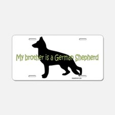 GSD_brother Aluminum License Plate