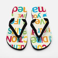 Dreams_16x20_Blank_HI Flip Flops