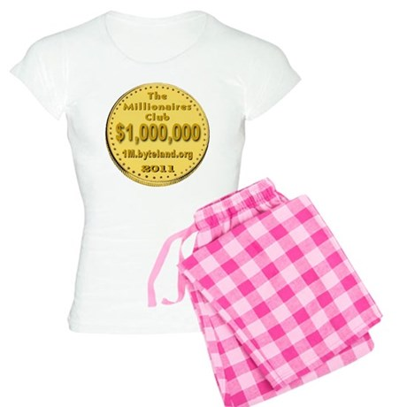 1M_Club_goldcoin_transparen Women's Light Pajamas