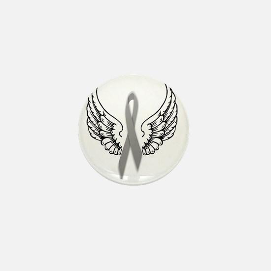 Angel Wings Cure Parkinsons Mini Button