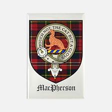MacPherson Clan Crest Tartan Rectangle Magnet (10