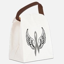 Angel Wings Cure Parkinsons Canvas Lunch Bag