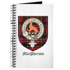 MacPherson Clan Crest Tartan Journal