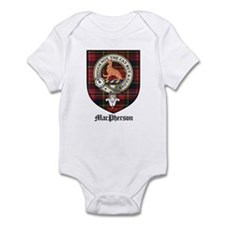MacPherson Clan Crest Tartan Infant Bodysuit