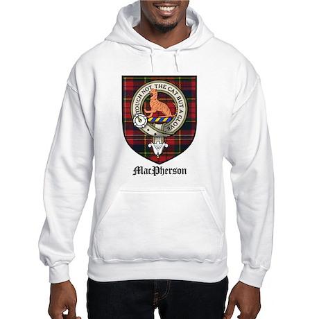 MacPherson Clan Crest Tartan Hooded Sweatshirt
