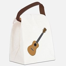 ukulele Canvas Lunch Bag