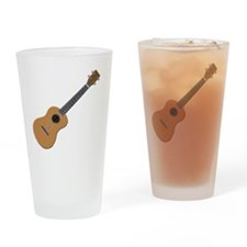 ukulele Drinking Glass