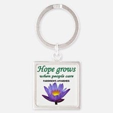 hope grows Square Keychain