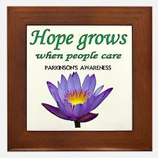 hope grows Framed Tile