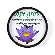 hope grows Wall Clock
