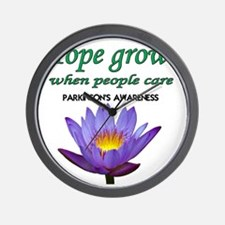 hope grows Wall Clock