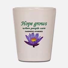hope grows Shot Glass