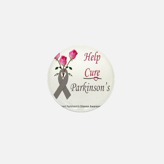 help cure diabetes Mini Button