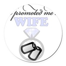 Promoted Round Car Magnet