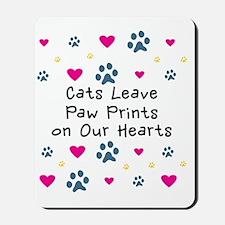cats-leave-paw-prints-k Mousepad