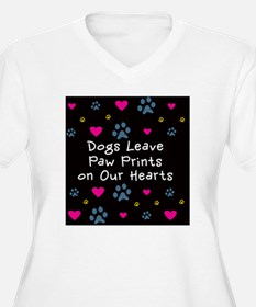 Dogs Leave Paw Pr T-Shirt