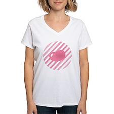 big_jelly_bean_pink_stripes Shirt
