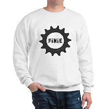 fixie_cog_GREYback2 Sweatshirt