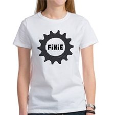 fixie_cog_GREYback2 Tee