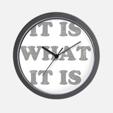 whatitisgry Wall Clock