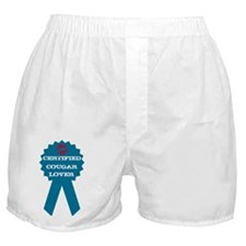 certified cougar lover Boxer Shorts
