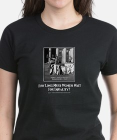 Votes for Women Equality Dark T-Shirt