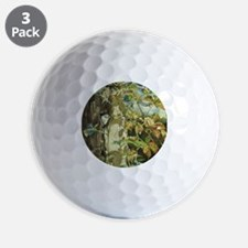 Nuthatch and Creeper Golf Ball