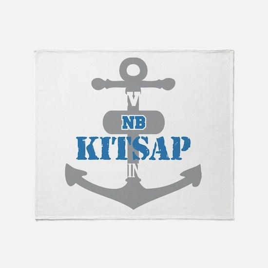 WA Kitsap 2 Throw Blanket