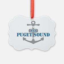WA Puget Sound 2 Ornament