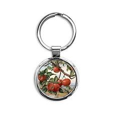 Apples_TILE Round Keychain