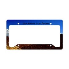 our horizon22x14 License Plate Holder