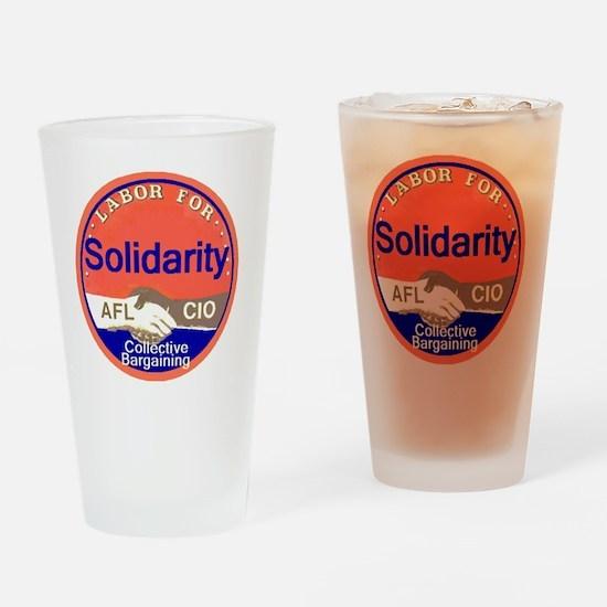 Solidarity Drinking Glass