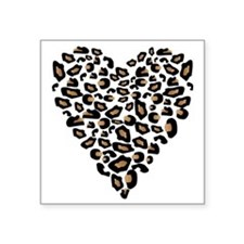 "bengal-heart Square Sticker 3"" x 3"""