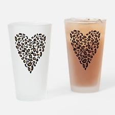 bengal-heart Drinking Glass