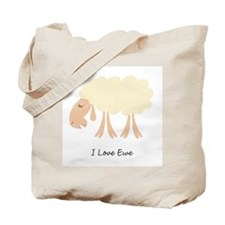 Cute Ewing Tote Bag