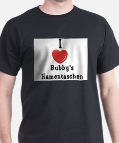 I Love Bubby's Hamentaschen T-Shirt