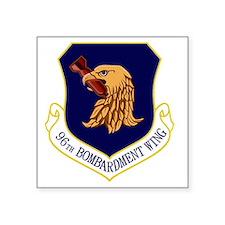 """96th Bomb Wing Square Sticker 3"""" x 3"""""""