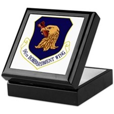 96th Bomb Wing Keepsake Box