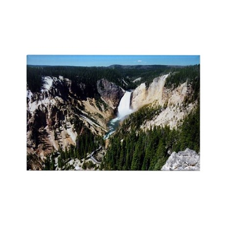 Grand Canyon of Yellowstone Rectangle Magnet