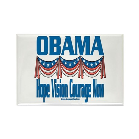 Obama Vision Rectangle Magnet