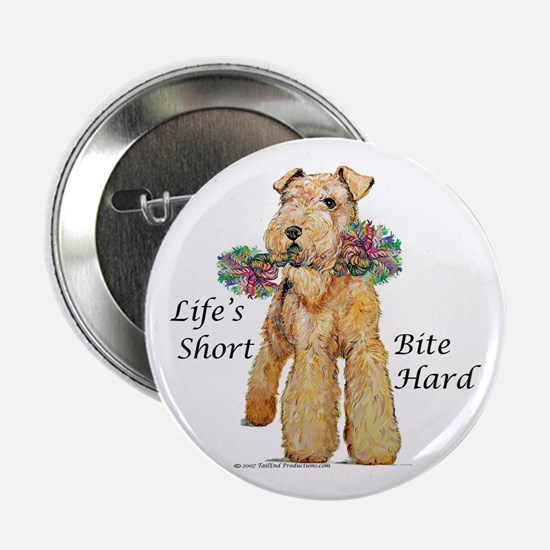 Bite Hard Airedale! Button