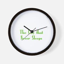 NewYork_10x10_apparel_USA_The City that Wall Clock