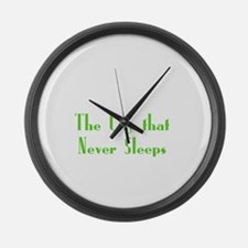 NewYork_10x10_apparel_USA_The Cit Large Wall Clock