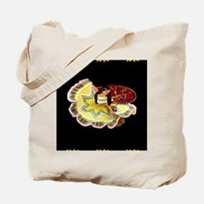 Dancer_sunflower_black_Blanket Tote Bag