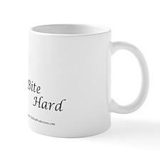 Bite Hard Airedale! Small Mug
